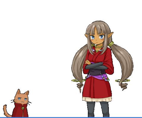 赤樺とカエデ
